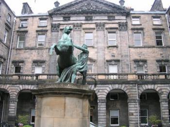 Edimbourg : Alexandre et Bucéphale
