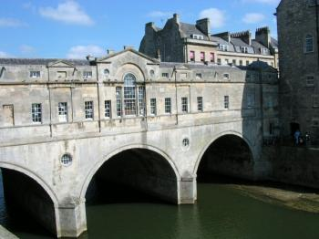 Bath : Le Pont Pulteney.
