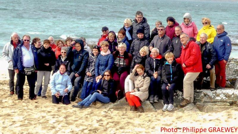 Un groupe soudé et sympa content de son expérience irlandaise